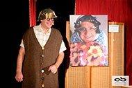 interaction avec le public et Roger Grimbuche le magicien humoriste