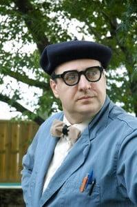 Monsieur Roger Grimbuche, instituteur comique et magicien, un spctacle type comédie magique