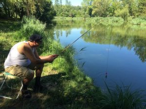Grimbuche à la pêche