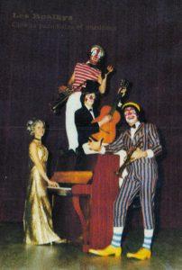 clown's Les Roalky's un spectacle à l'ancienne