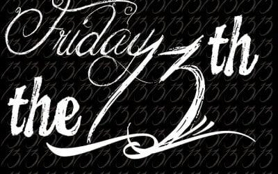 Le vendredi 13, moi ça me fait peur !!!!