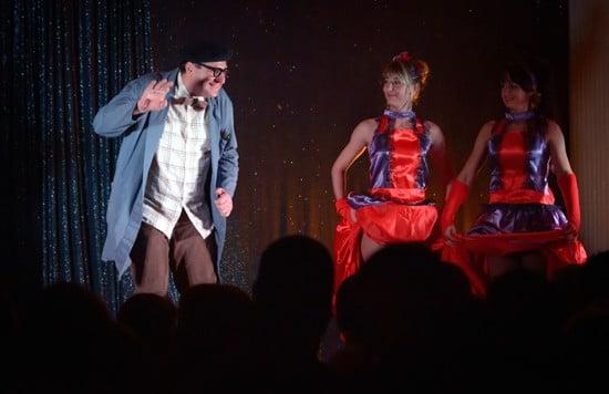 L'école buissonière, spectacle de magie comique monsieur Grimbuche