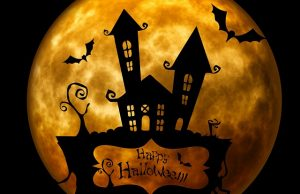 préparatifs pour halloween magique