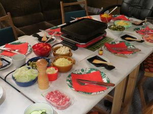 raclette magique partie