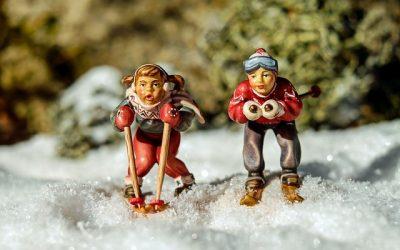 A ski pour les vacances