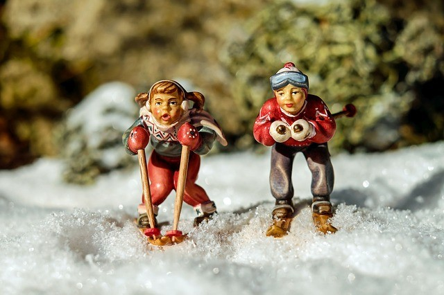 A ski avec les Grimbuche